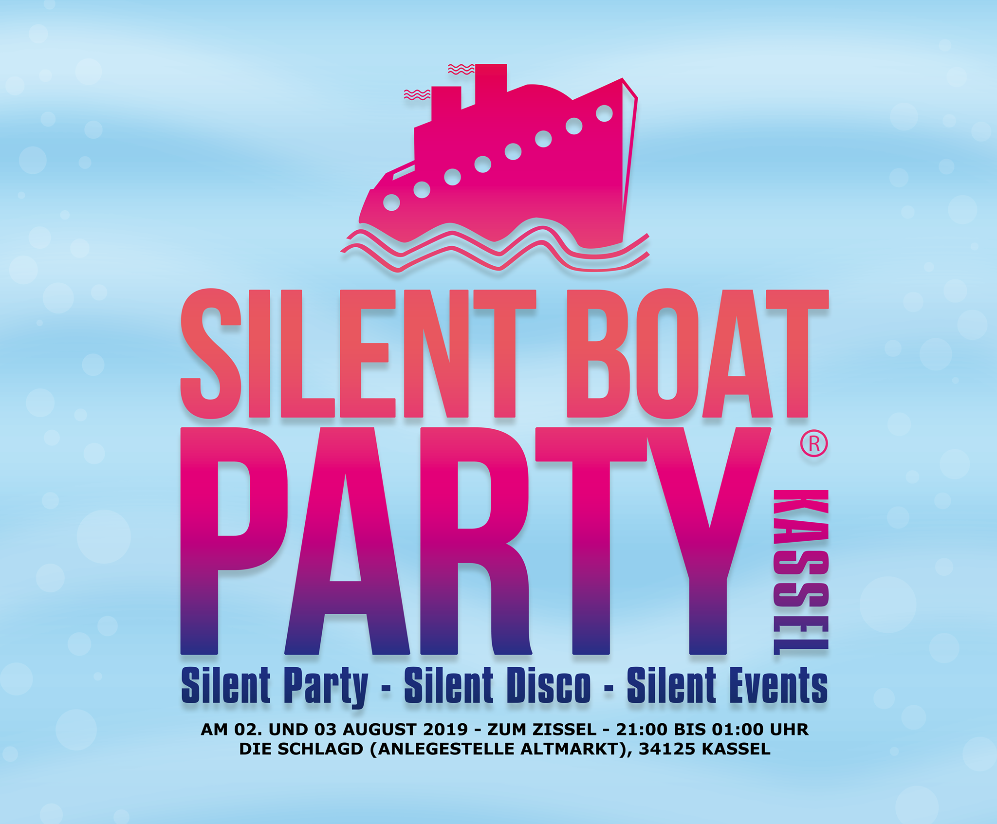 Silent Boat Party